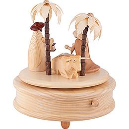Spieldose Heilige Familie - 17 cm