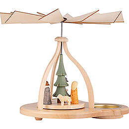 1-Tier Pyramid - Crib - 14 cm / 5.5 inch