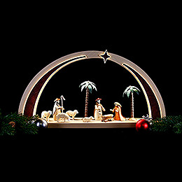 Light Arch - Nativity Scene LED - 60x25x11 cm / 23.6x9.8x4.3 inch