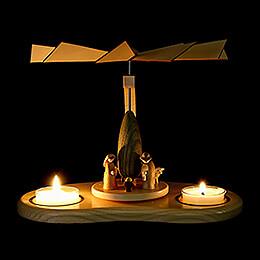 1-stöckige Pyramide Krippenminiaturen - 17 cm