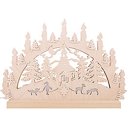 3D Double Arch - Seiffen Church - 42x30x4,5 cm / 16x12x2 inch