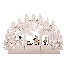 3D Double Arch - Gift Giving - 42x30x4,5 cm / 16x12x2 inch