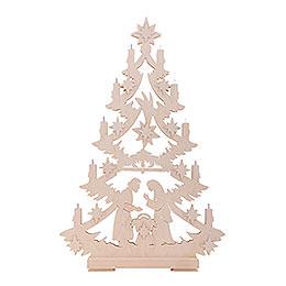 Light Triangle - Christmas Tree - 70x46x5,5 cm / 27x18x2 inch