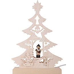 Light Triangle - Christmas Market - LED - 23.5x15.5x4.5 cm / 9.06x5.91x1.57 inch