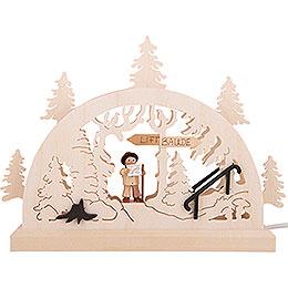 Schwibbogen Wanderung - 23x15 cm