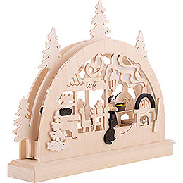 Candle Arch - Bakery - 23x15 cm / 9.1x5.9 inch