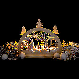 Candle Arch - Advent Market - 23x15 cm / 9.1x5.9 inch
