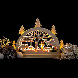 Candle Arch - Game Preserve - 23x15 cm / 9.1x5.9 inch