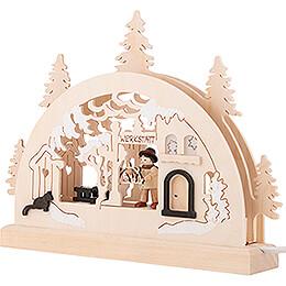 Candle Arch - Workshop - 23x15 cm / 9.1x5.9 inch
