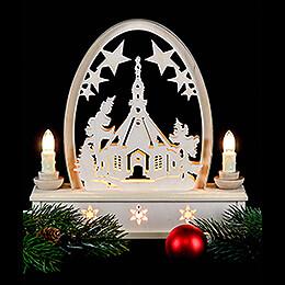 Seidel Arch Seiffen Church - 25 cm / 10 inch