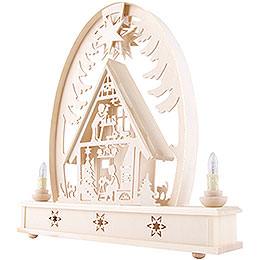 Seidel Arch Christmas House - 36x37 cm / 14x15 inch