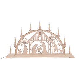 Candle Arch - Nativity Scene - 78x42 cm / 31x17 inch