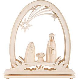 Seidelbogen Christi Geburt - 31x33 cm
