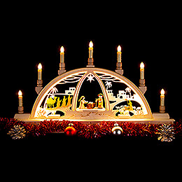 Candle Arch - Ore Mountains Scenery - 63x35 cm / 24.8x13.8 inch