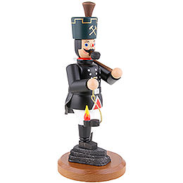 Smoker - Miner with Lamp and Pick - 22 cm / 8.7 inch