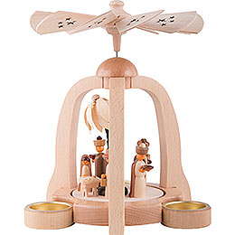 1-Tier Pyramid - Nativity - 22 cm / 8.6 inch