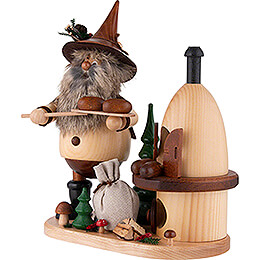 Smoker - Gnome on Board - Baker - 26 cm / 10.2 inch