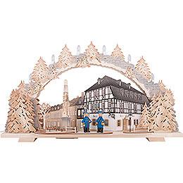 Candle Arch - Hotel zum Ross - 72x43 cm / 28.3x16.9 inch