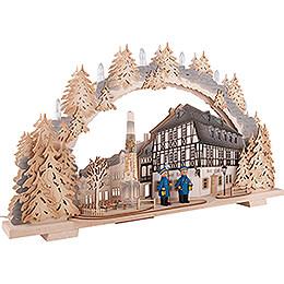 Candle Arch - Zwönitz - Hotel zum Ross - 72x43 cm / 28.3x16.9 inch