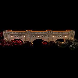 Illuminated Stand - Augustus Bridge - 54,5x11,5 cm / 21.5x4.5 inch