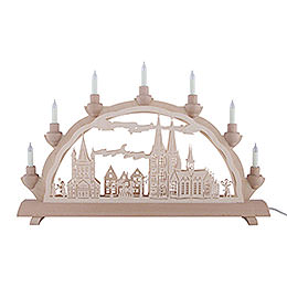 3D Double Arch - Cologne Cathedral - 50x32 cm / 20x12.6 inch
