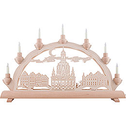 3D Double Arch - Dresden's Church of Our Lady - 50x32 cm / 20x12.6 inch