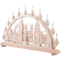 3D Double Arch - London - 68x35 cm / 27.8x13.8 inch