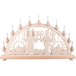 Candle Arch - Angel & Miner - 68x35 cm / 26.8x13.8 inch