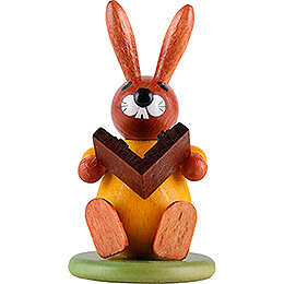 Bunny Yellow with Book - 9 cm / 3.5 inch