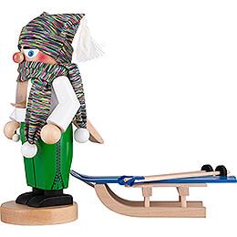 Nussknacker Chubby Skifahrer - 27 cm