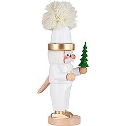 Nussknacker Chubby Weißer Weihnachtsmann - 35,5 cm