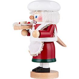 Nussknacker Troll Weihnachtsfrau - 27 cm
