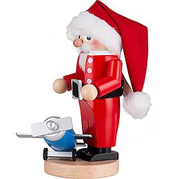 Nussknacker Chubby Fliegender Weihnachtsmann - 28 cm