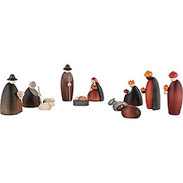 Nativity Set of 12 Pieces - 12 cm / 4.7 inch