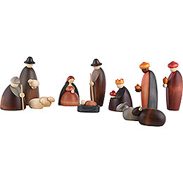 Nativity Set of 12 Pieces - 17 cm / 6.7 inch