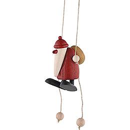 Santa Claus Climbing - 9 cm / 3.5 inch
