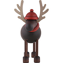 Rudolf the Reindeer Standing - 12 cm / 4.7 inch