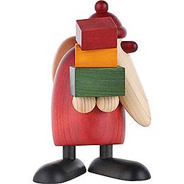 Weihnachtsmann, Geschenke tragend - 19 cm