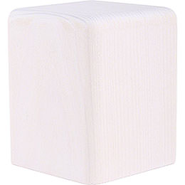 Block Medium White - 8 cm / 3.1 inch