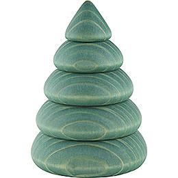 Halber Baum für Wandrahmen grün - 9,5 cm