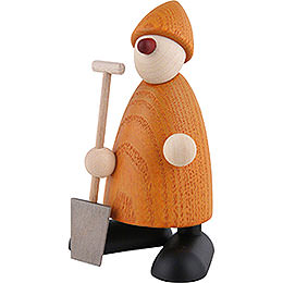 Well-Wisher Hans with Spade, Yellow - 9 cm / 3.5 inch