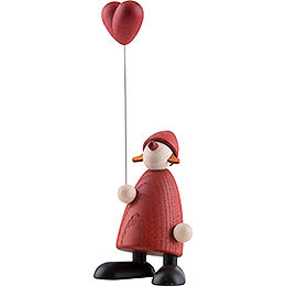 Mrs. Claus with Heart - 9 cm / 3.5 inch