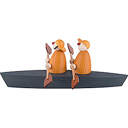 Boat Trip of Two, Yellow - 9 cm / 3.5 inch