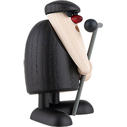 Herr Kunze at the Microphone - 9 cm / 3.5 inch