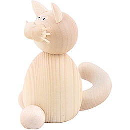 Cat Moritz Sitting - 7 cm / 2.8 inch