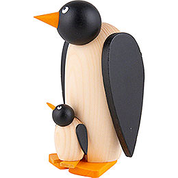 Penguin with Child - 10 cm / 3.9 inch