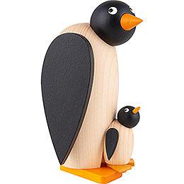 Pinguin mit Kind - 10 cm