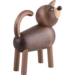 Dog Willi - Grey - 9 cm / 3.5 inch