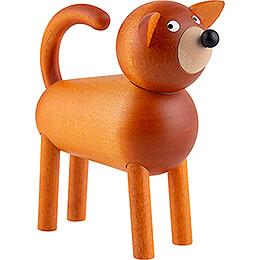 Dog Billi - Brown - 9 cm / 3.5 inch