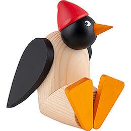 Penguin with Cap - Sitting - 9,5 cm / 3.7 inch